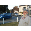 Tim O'Flynn inspects the Datchet traffic problem - The Lib Dems want an M4 Park & Ride to keep traffic out of Windsor, Datchet, Eton and Eton Wick. We opposed the silly plan taken to council by the Conservatives, strangely they opposed their own plan