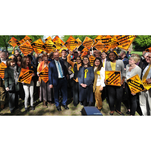 Tim Farron leads the opposition to a hard brexit (Liberal Democrats - www.libdems.org)