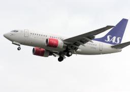 Boeing 737 aircraft / aeroplane in flight