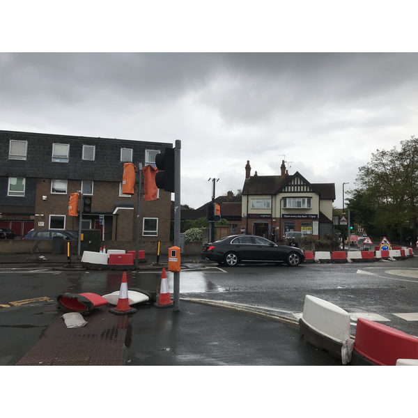 Dedworth Road/Hatch Lane roundabout